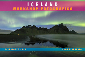 Workshop Fotografico In Islanda 2018