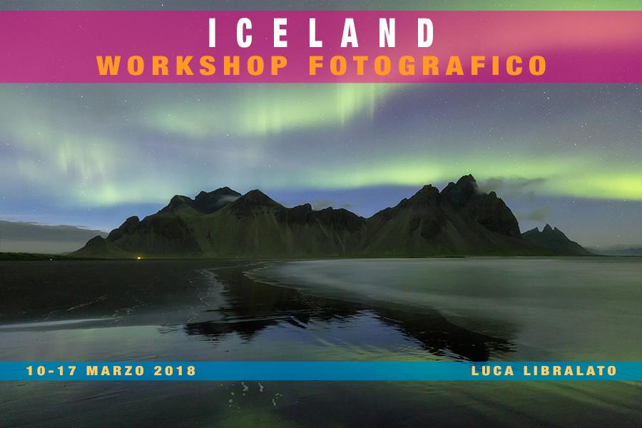 Workshop Fotografico Islanda 2018