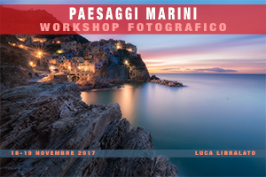 Workshop Fotografico Paesaggi Marini 2017
