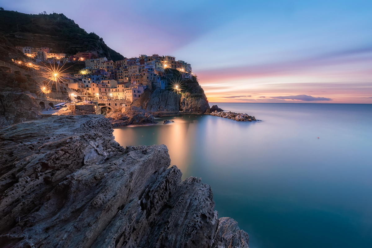 Manarola Lights