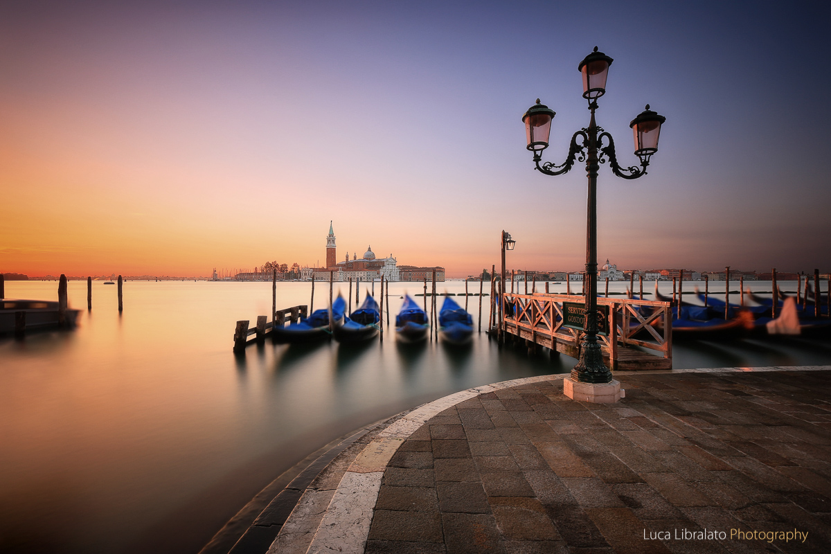 Warm Sunrise In Venice
