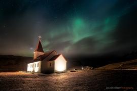 Northern Lights On Vik