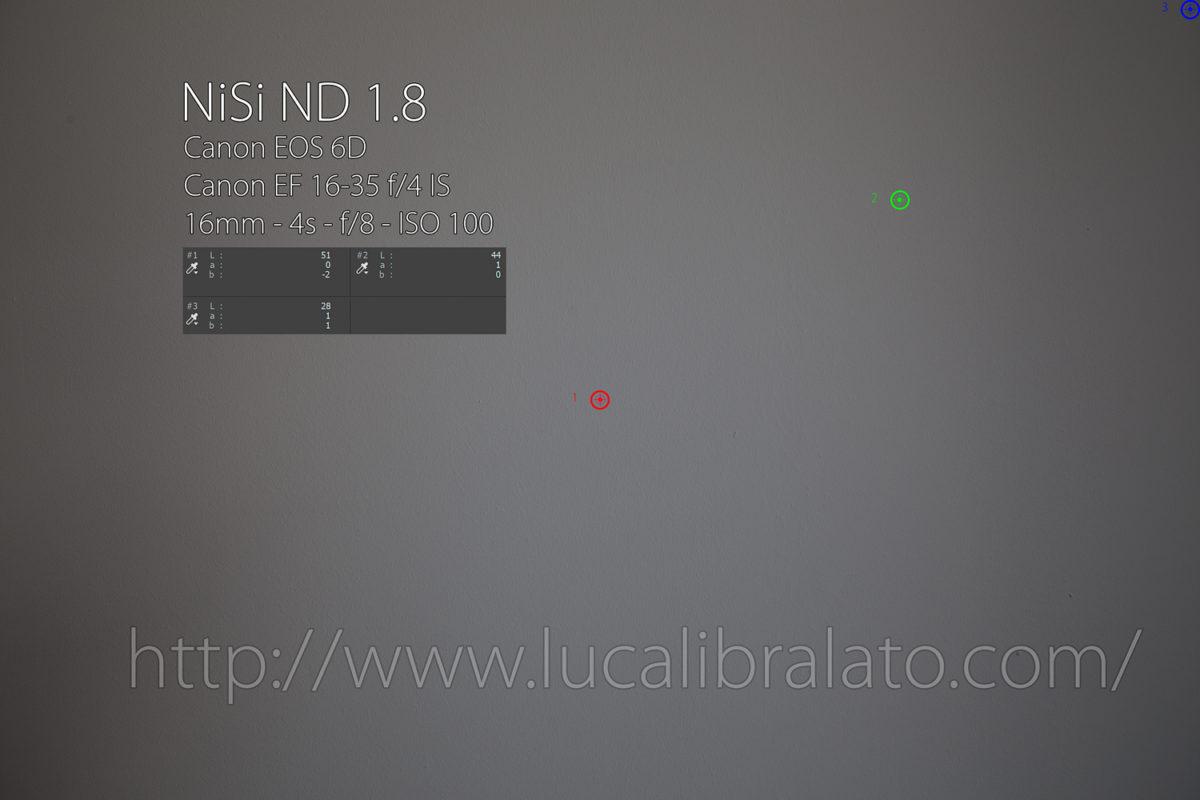 NiSi ND 1.8 Vignette