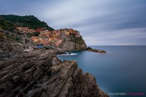 Manarola (Long Exposure Stacking)
