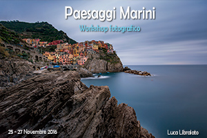 Workshop Paesaggi Marini 2016