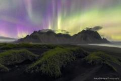 Lady Aurora (Vestrahorn - Iceland)
