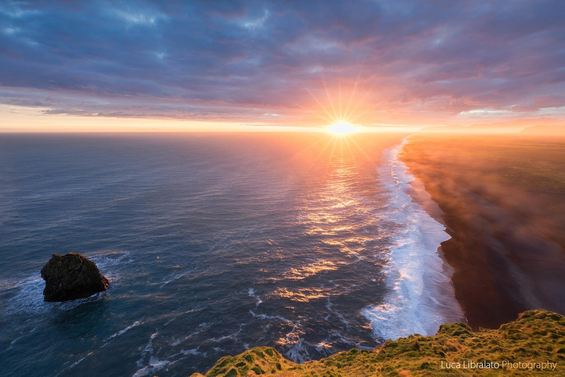 Nuclear Sunset (Vik - Iceland)