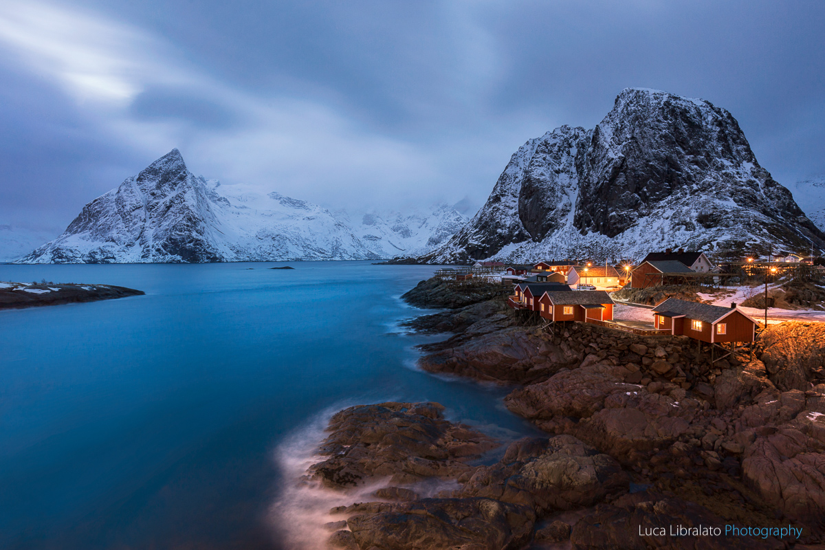 Blue Hour In Hamnoy