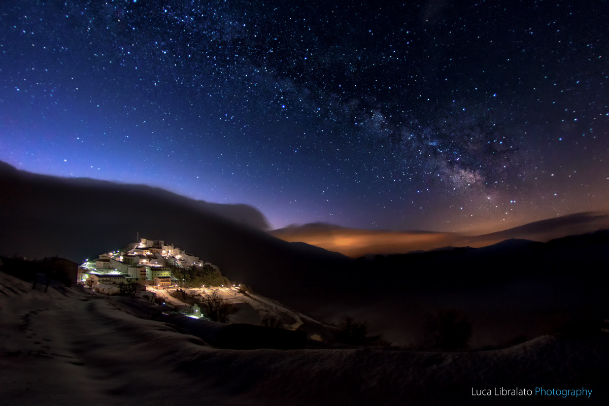 Castelluccio By Night