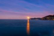 Manarola Moonset