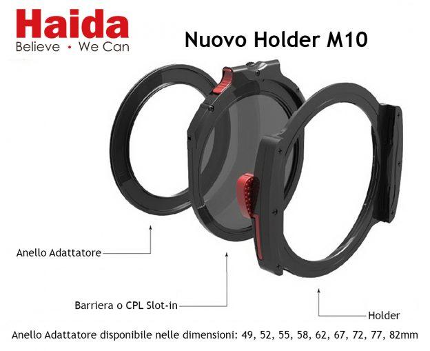 Haida Anello Adattatore per Obiettivi 77mm per Holder 150